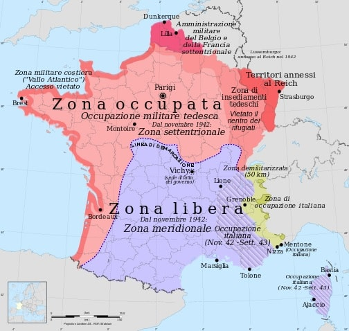 Cartina D Italia 1940.Cosa Prevedeva L Armistizio Firmato Dalla Francia